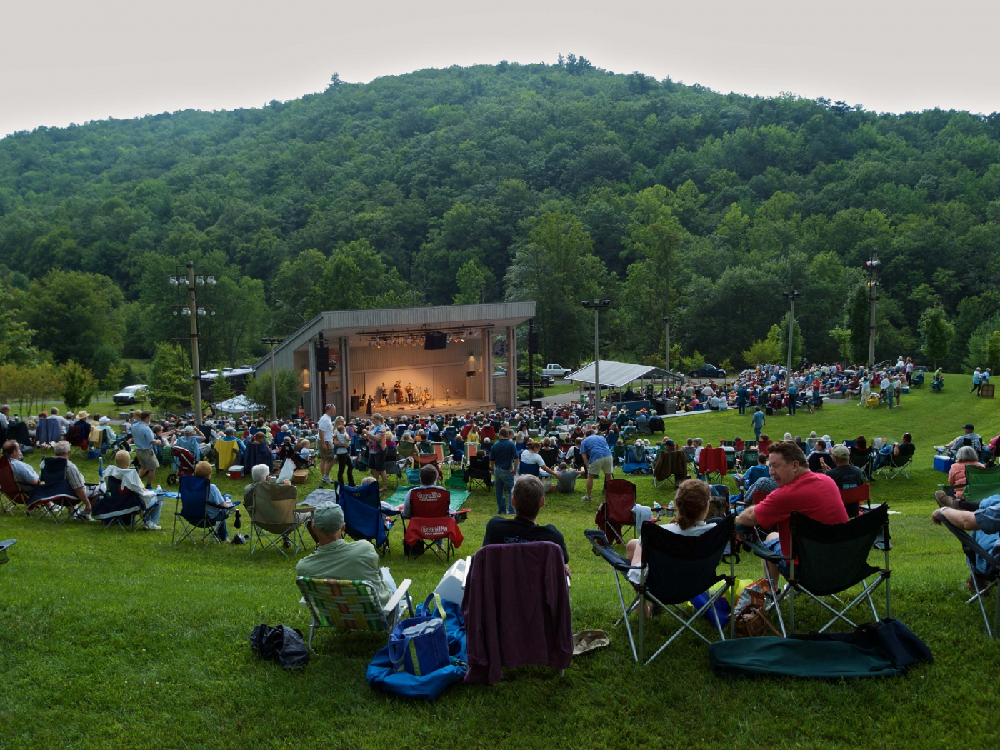 Blue Ridge Music Center - Photo by TwoRivers