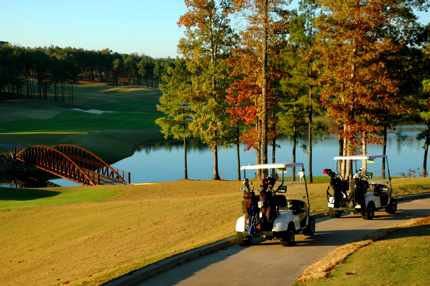 Alabama boasts countless incredible golf courses, including the world-renowned Robert Trent Jones Golf Trail.