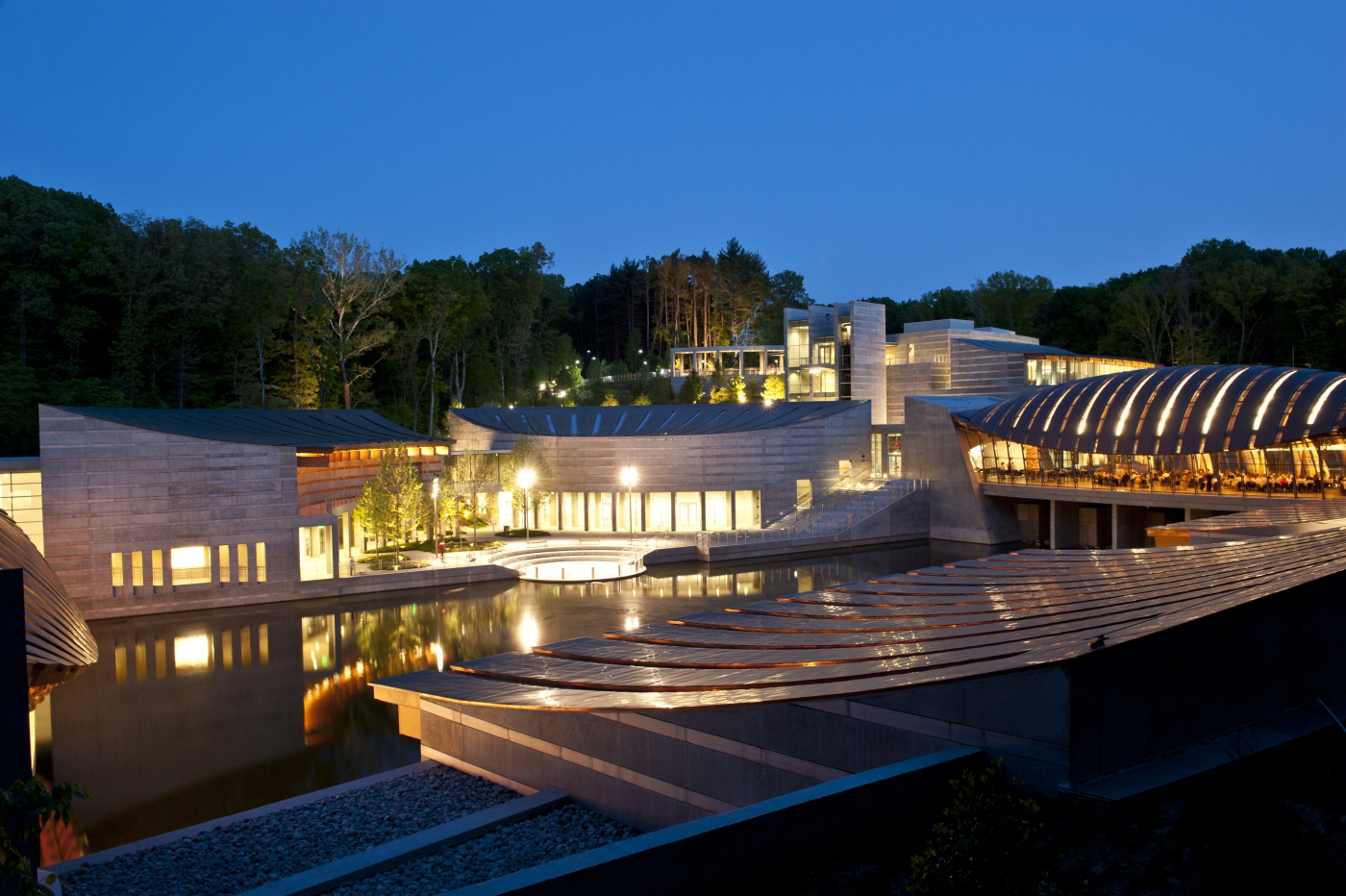 Crystal Bridges Museum of American Art - Bentonville, Arkansas