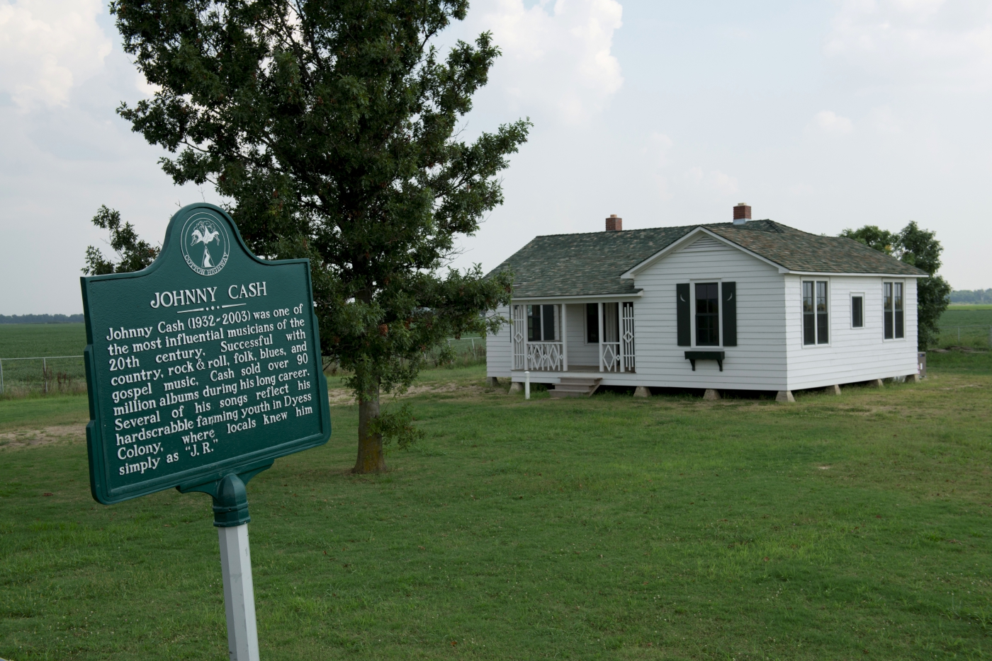 Johnny Cash Boyhood Home - Dyess, Arkansas