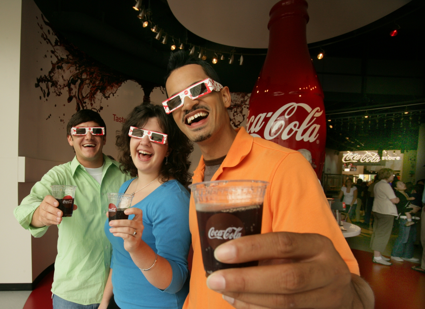 Sample different versions of Coca-Cola from all over the world!