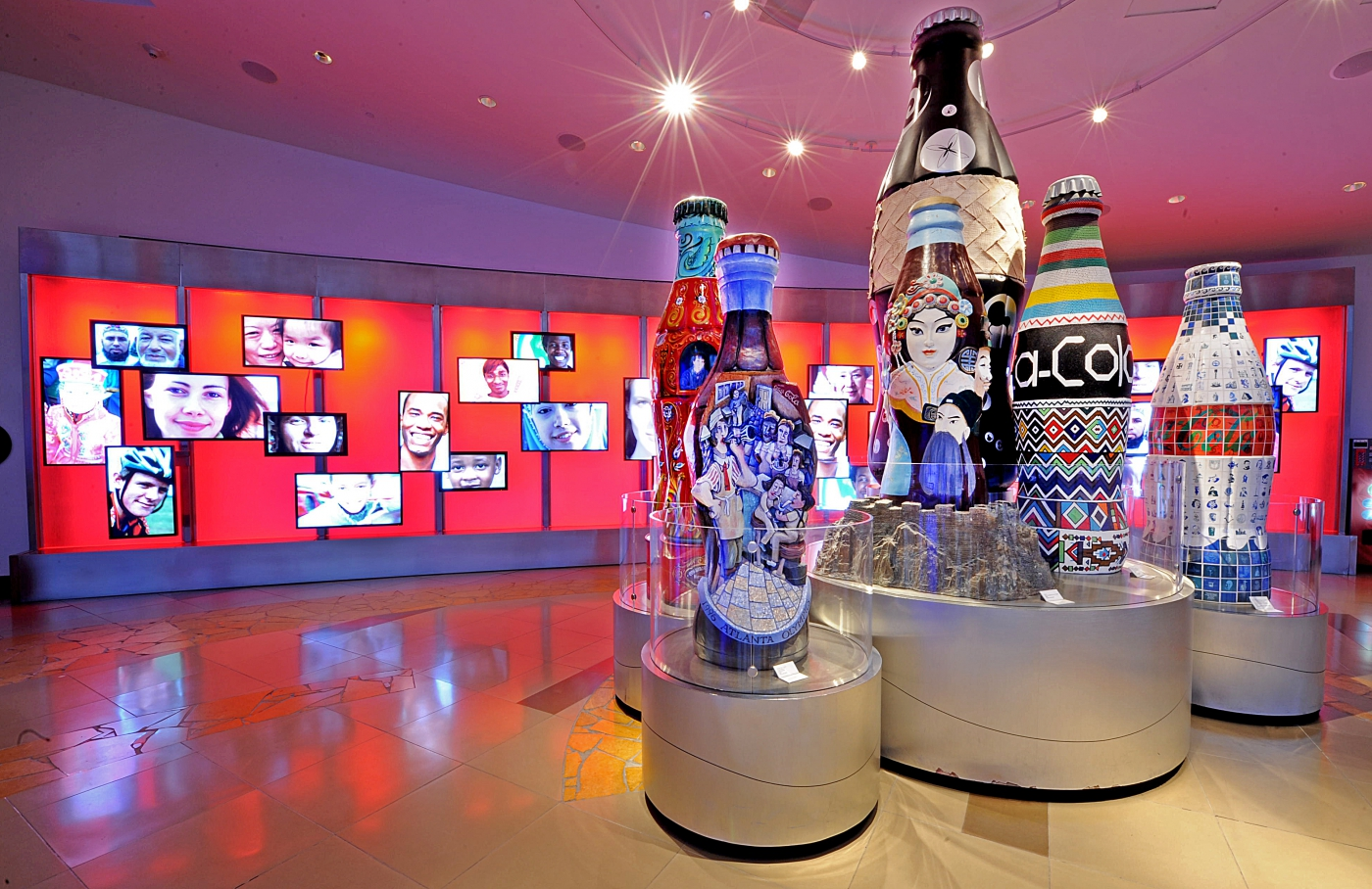 Your visit to Atlanta isn't complete without a stop in the amazing World of Coca-Cola.