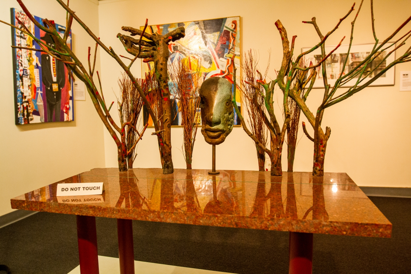 Georgia artist's collection at the Tubman African America Museum.