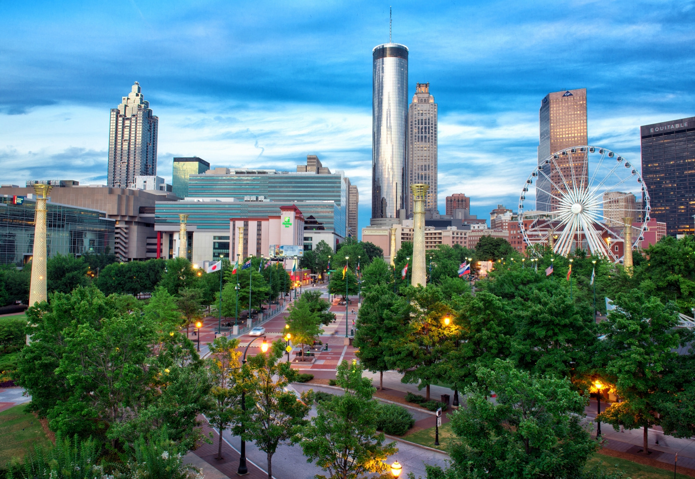 Downtown Atlanta has something to suit every traveler's fancy.