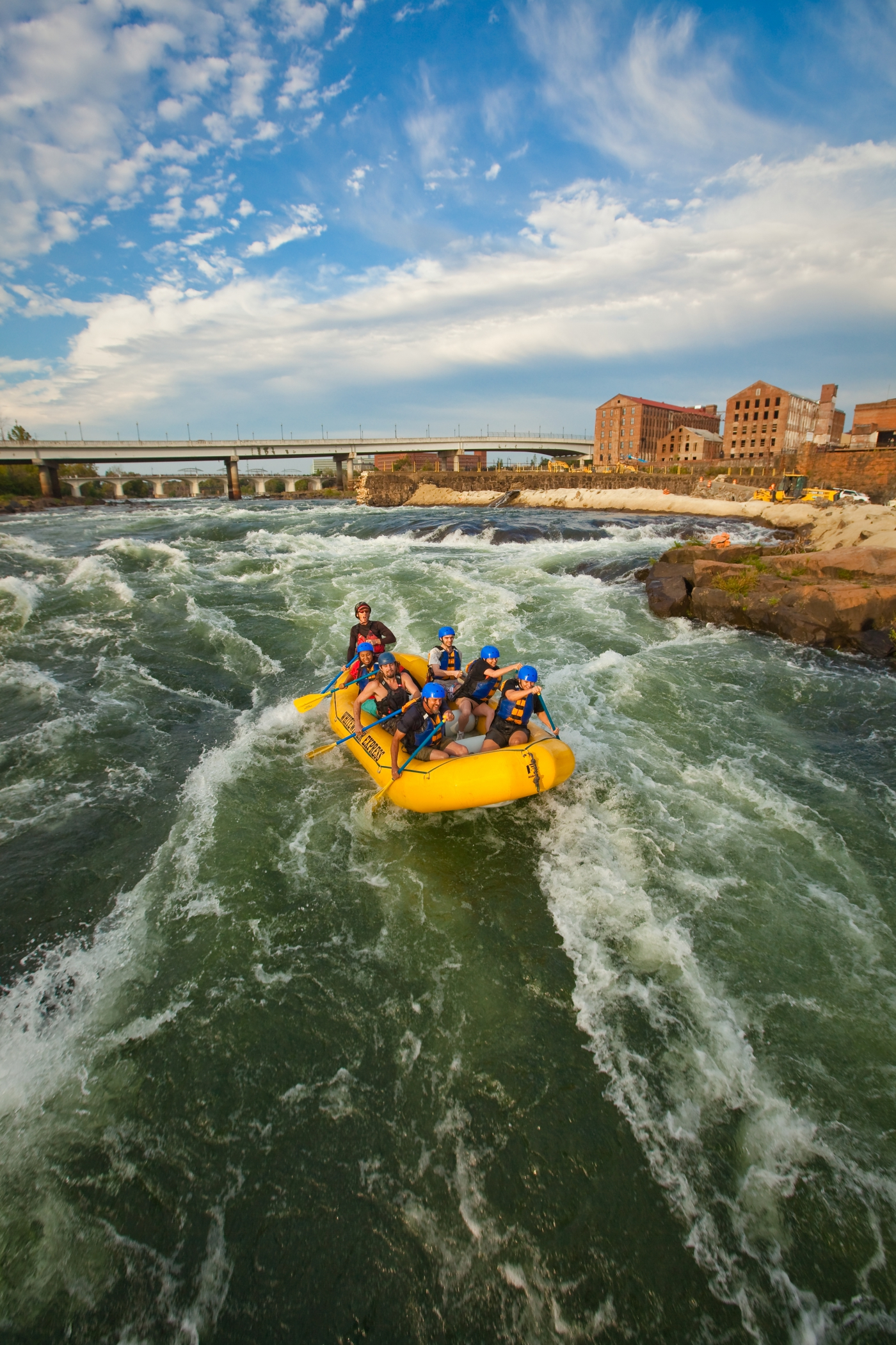 Master the longest urban whitewater course in the world on the Chattahoochee River right through downtown Columbus.