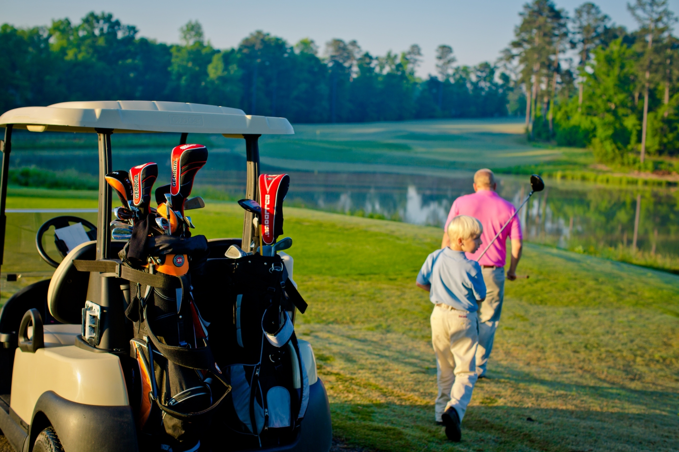 Georgia has more than 150 golf courses, clubs and schools, as well as the Masters Tournament played each year at Augusta National Golf Club.