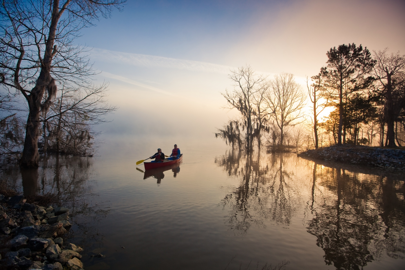 Become one with nature in Georgia, where you can dive into outdoor activities, visit natural attractions and state parks, and explore scenic byways and trails.