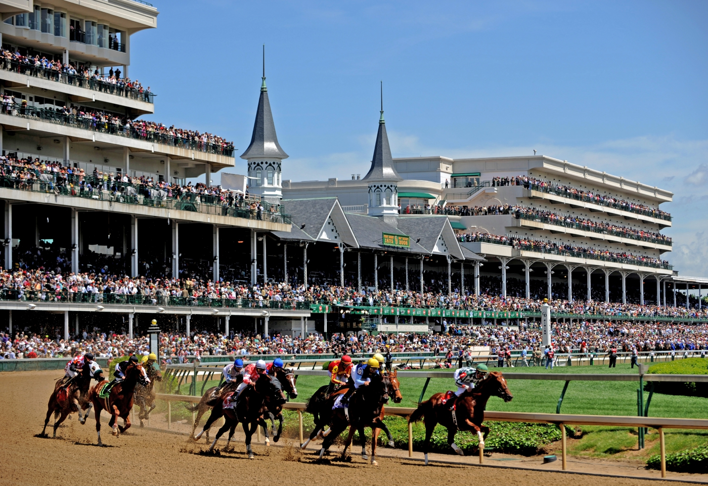Churchill Downs, home to the famous Kentucky Derby, is a stop you will remember forever.