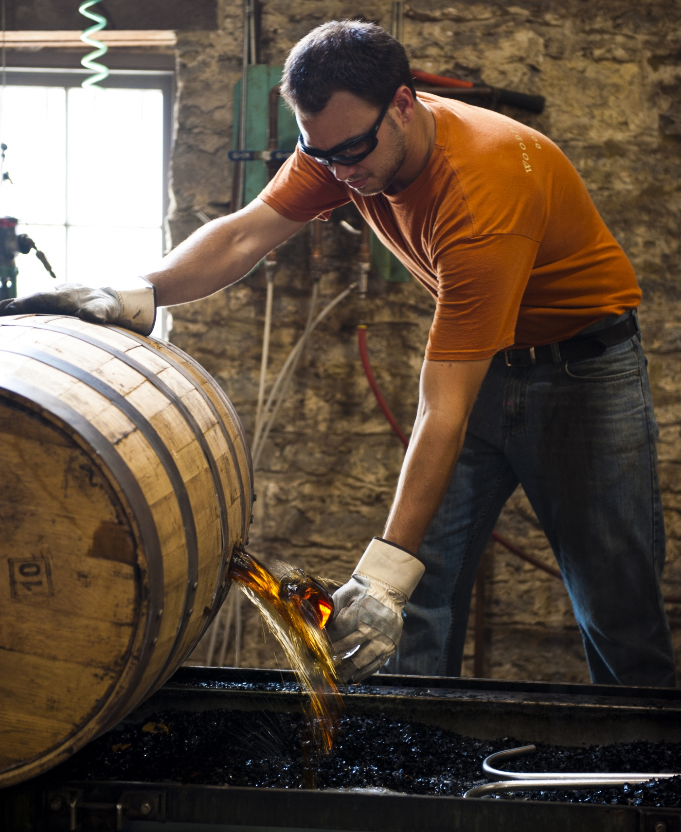 Bourbon Production in Kentucky