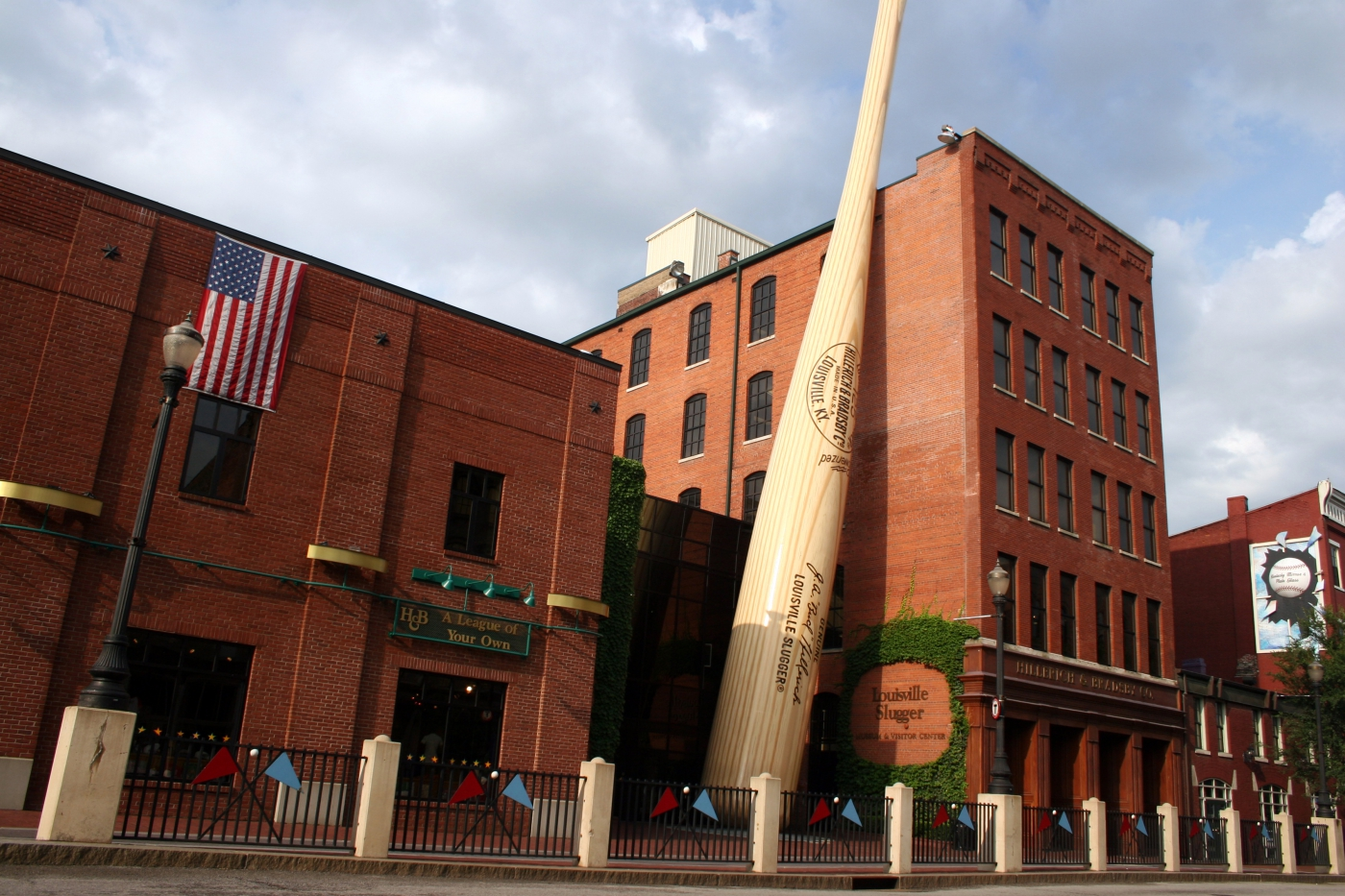 Louisville Slugger Bat Factory & Museum - Louisville, Kentucky