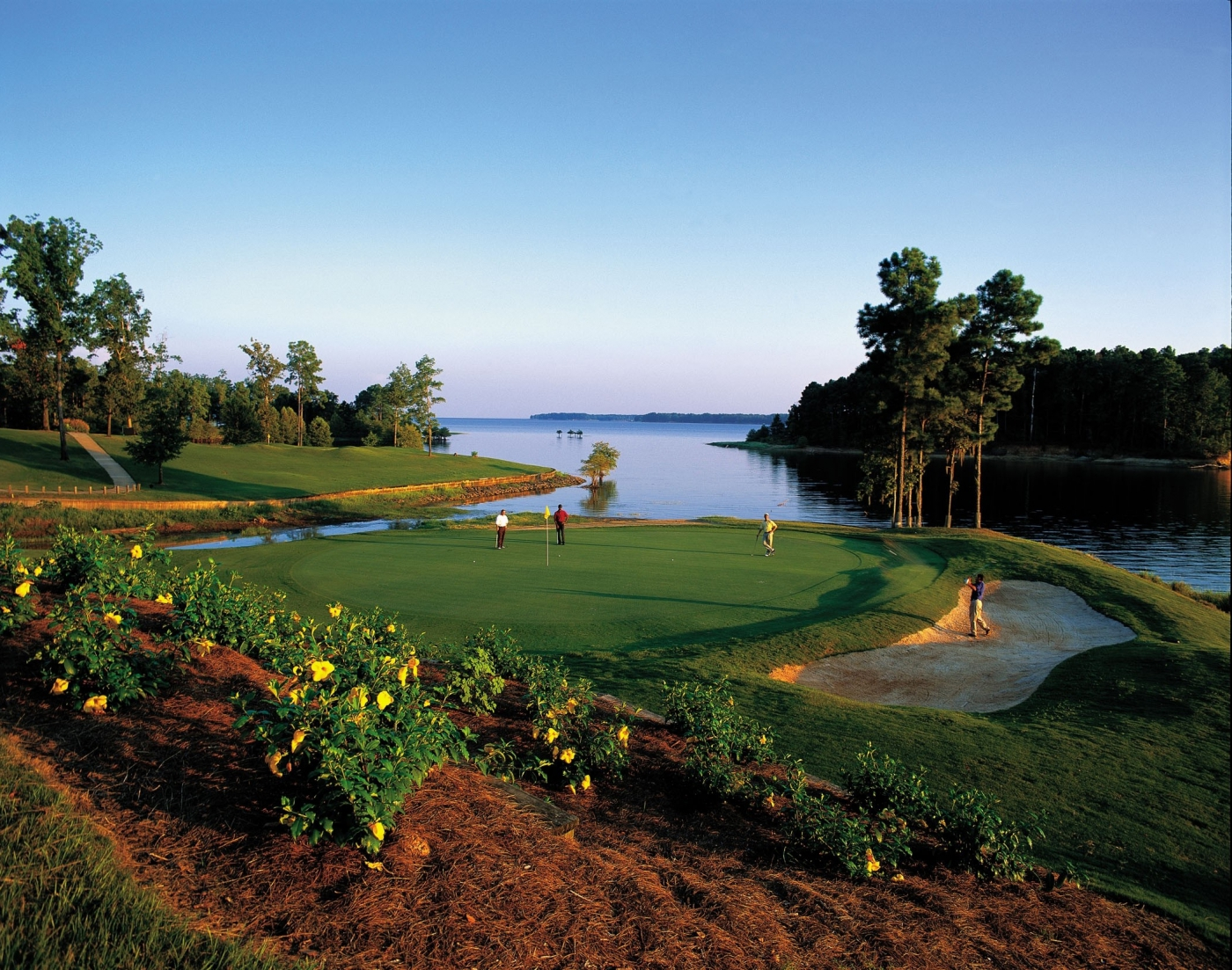 Play one of hundreds of beautiful golf courses.