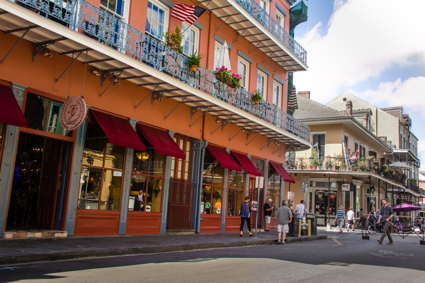 You must visit the French Quarter any time you are in New Orleans!