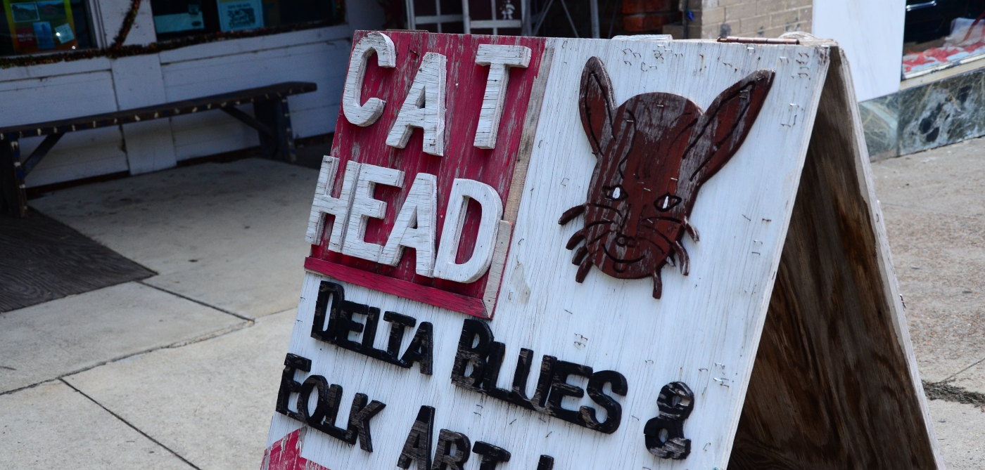 Visit the Cat Head Delta Blues & Folk Art to buy something to commemorate your trip!
