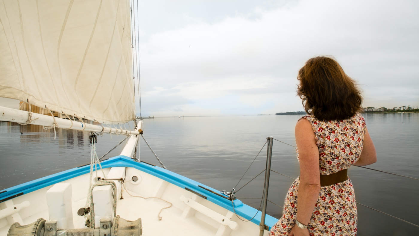 Hop on a boat and enjoy the open waters of the beautiful Mississippi Gulf Coast!