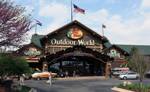 Springfield is home to the world's first Bass Pro Shop!