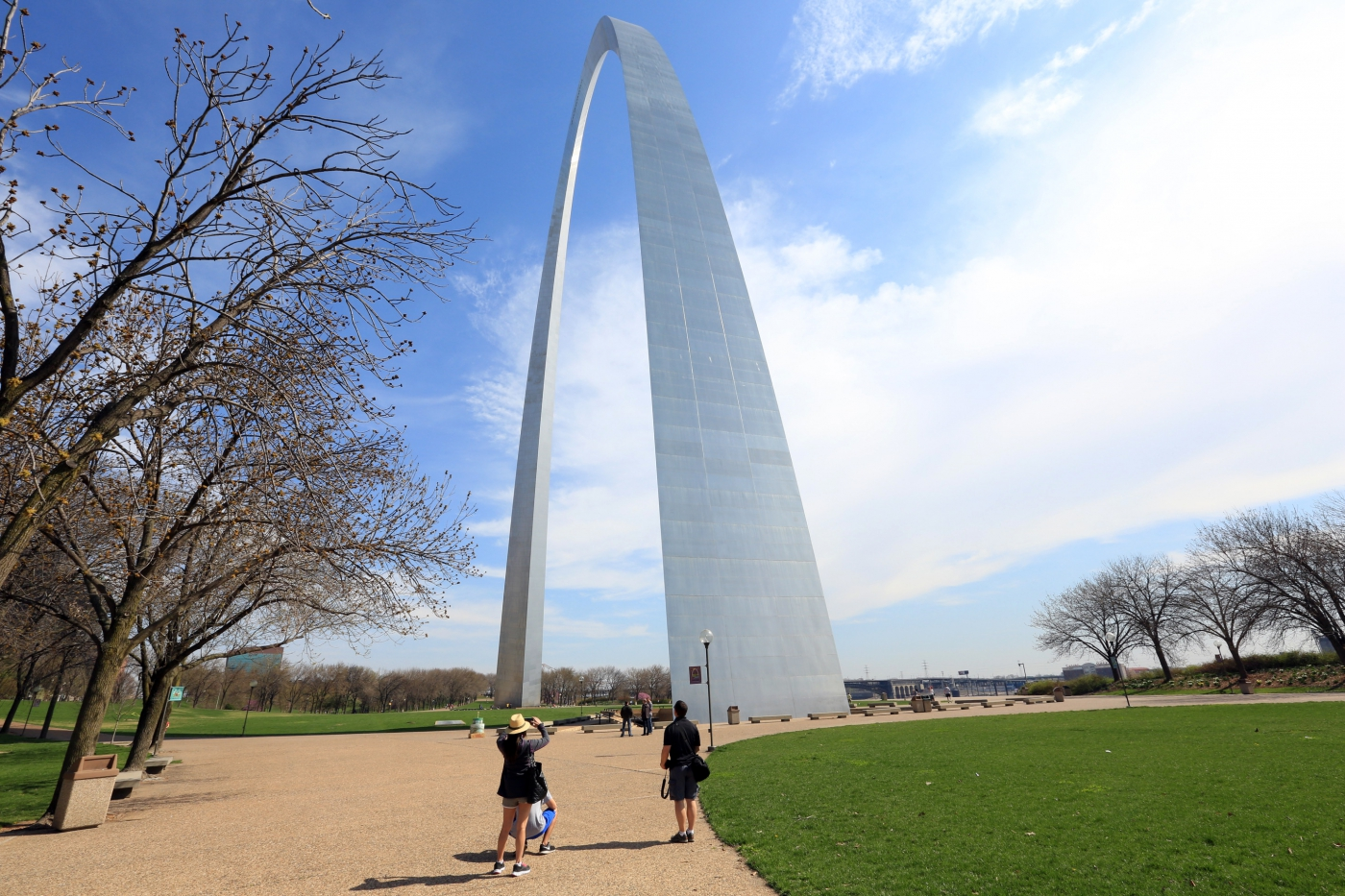 Photo opportunities at the Gateway Arch.