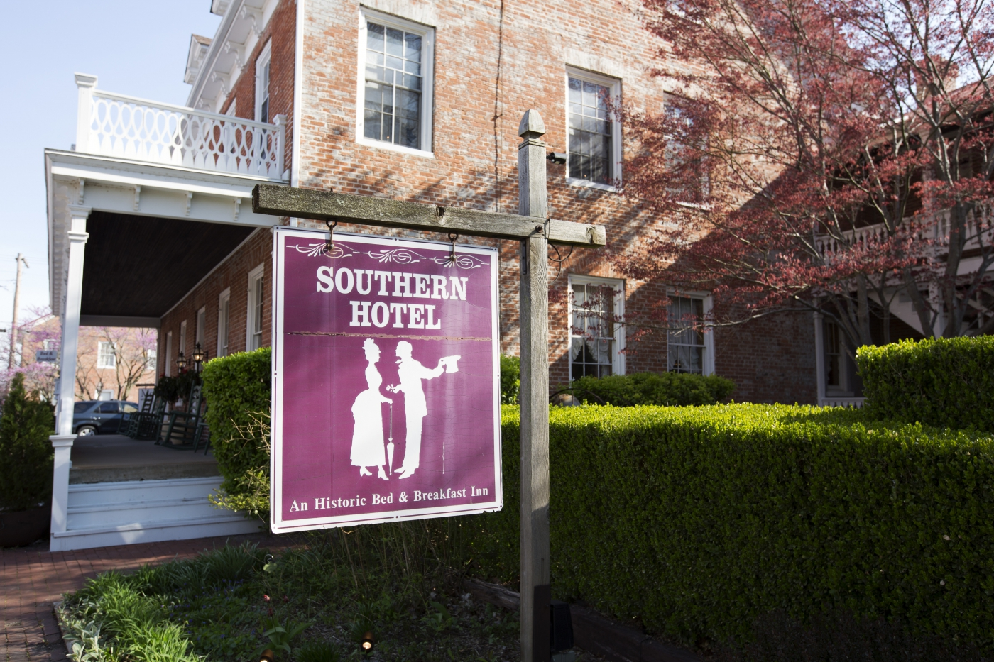 Stay at the Southern Hotel, the oldest operating hotel west of the Mississippi River!