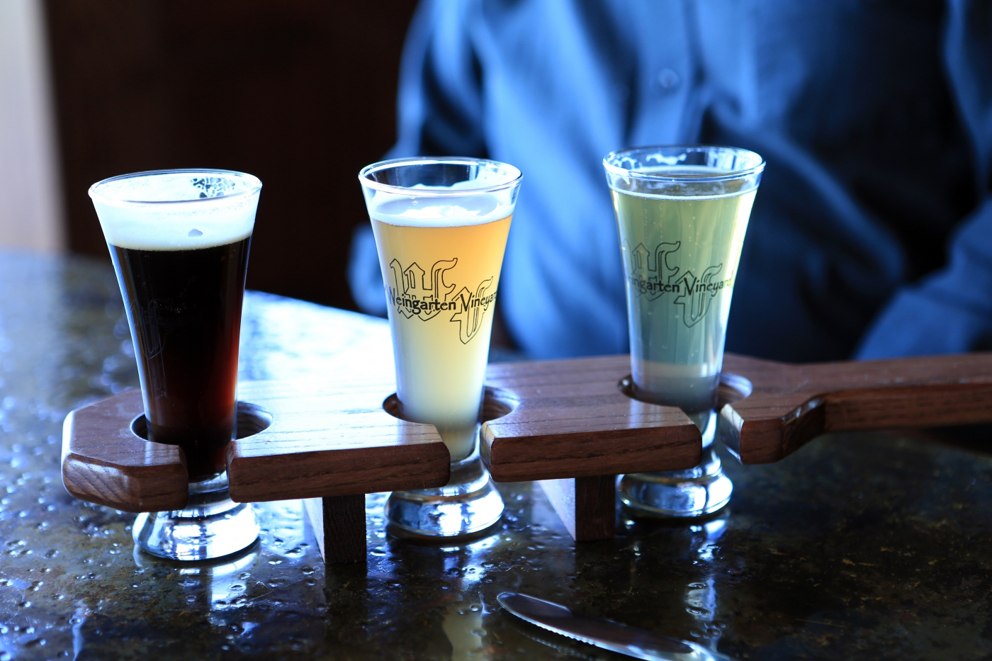 Enjoy a local beer tasting.