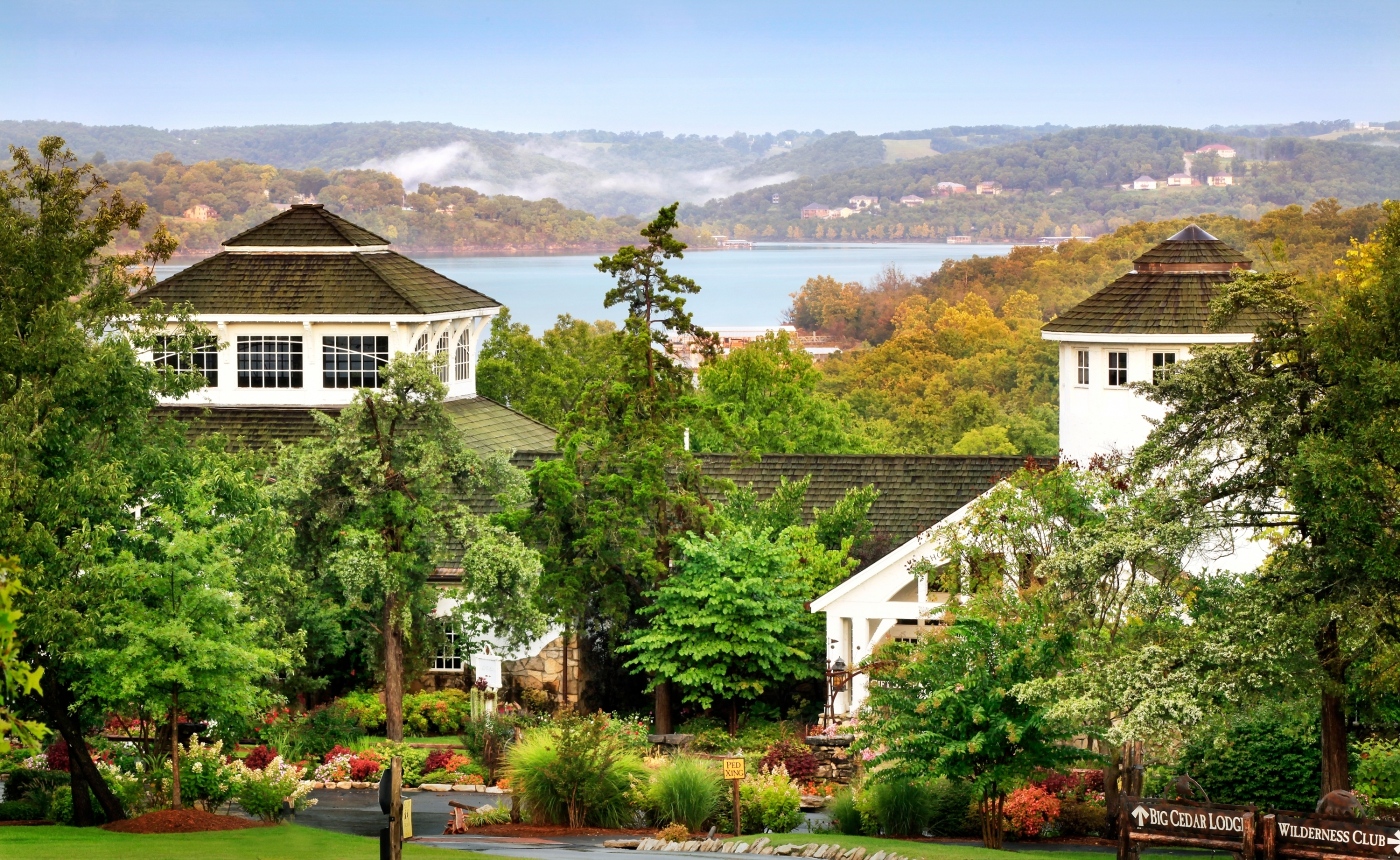 Nature's beauty and world-class accommodations combine for a luxurious resort experience at Big Cedar Lodge near Branson.