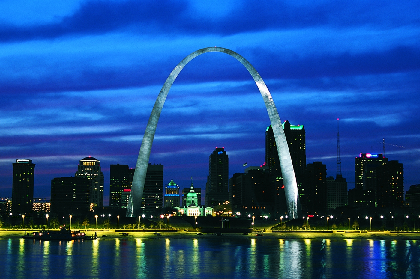 A symbol of America's westward expansion, the iconic Gateway Arch in St. Louis is the country's tallest monument.