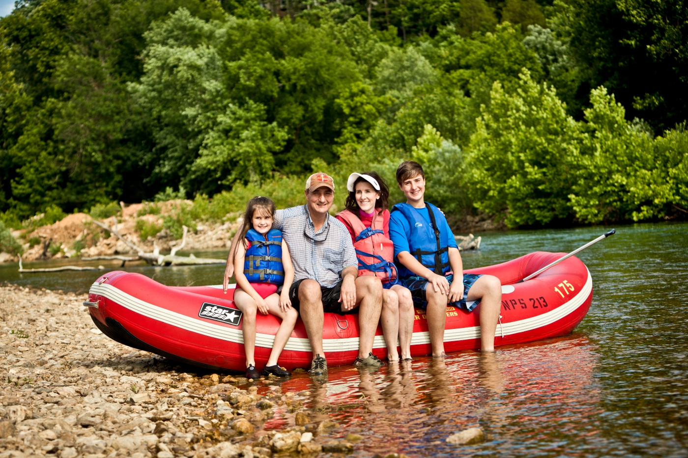 Reconnect with loved ones and enjoy the great outdoors with an excursion on one of Missouri's 59 floatable rivers and streams.
