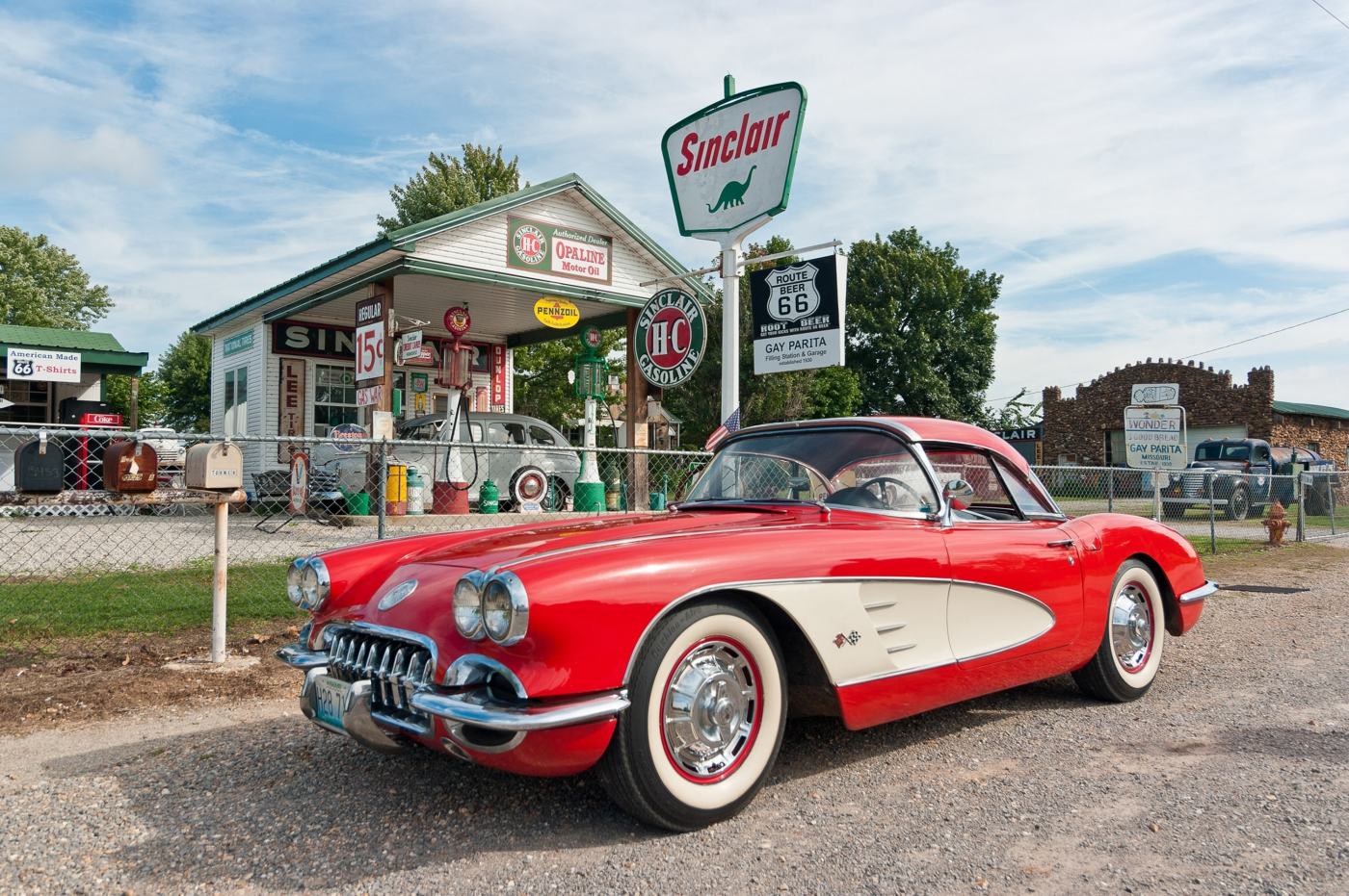 Known the world over, Route 66 runs nearly 300 miles across Missouri and includes unique stops like Gary's Gay Parita.