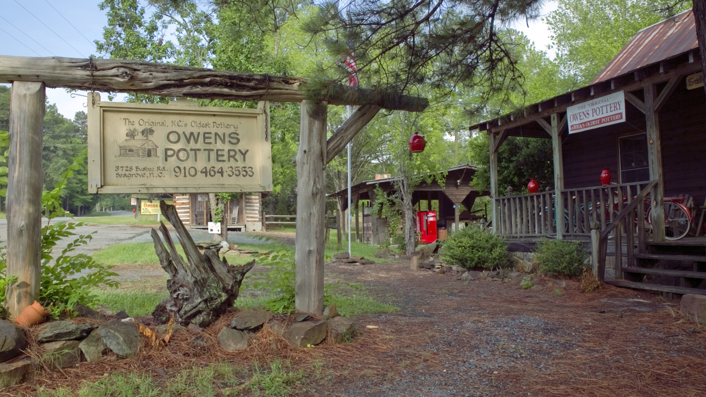 Owens Pottery in Seagrove is a must see!