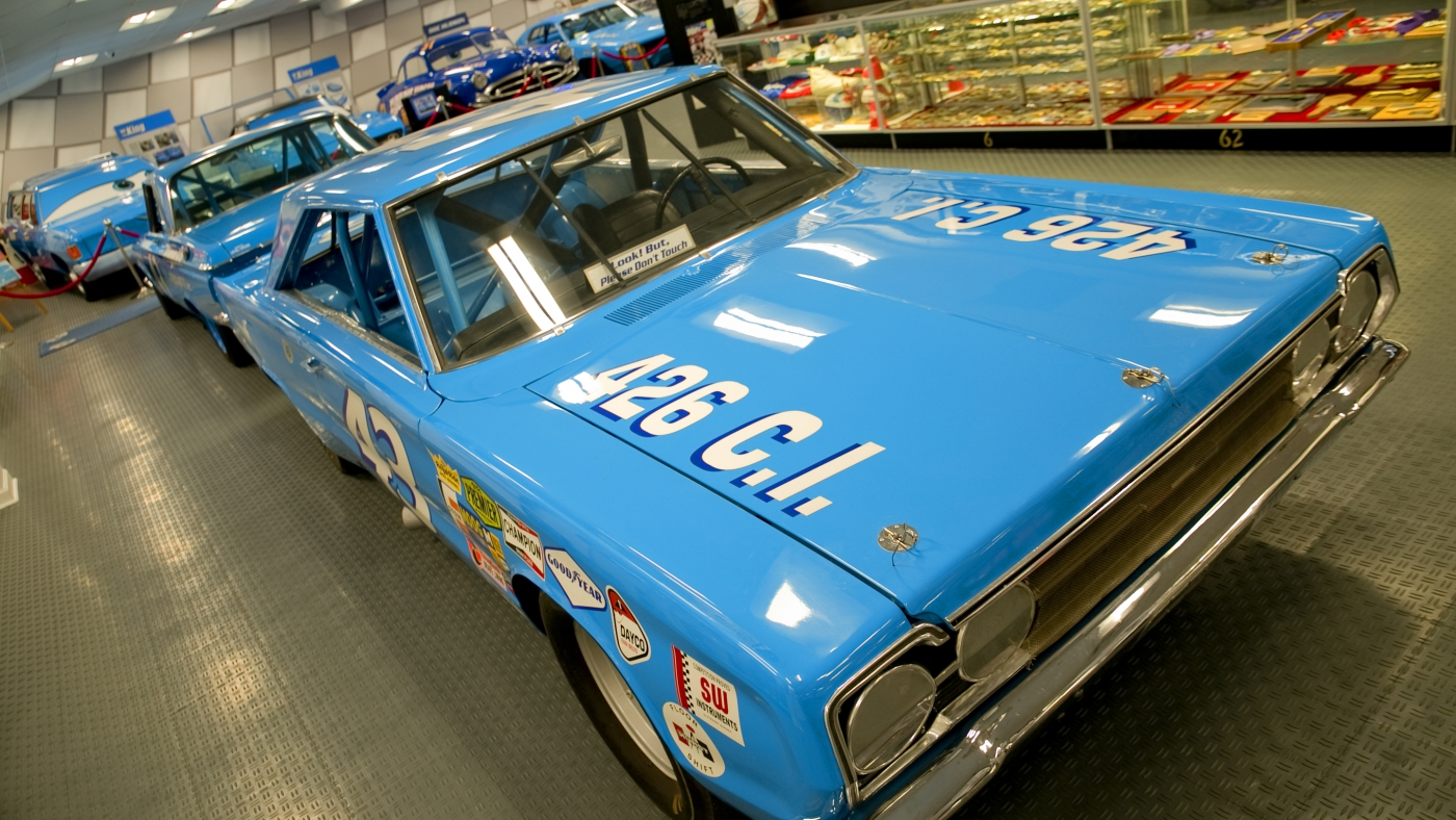 If you love cars and racing, drop by the Richard Petty Museum in Randleman.