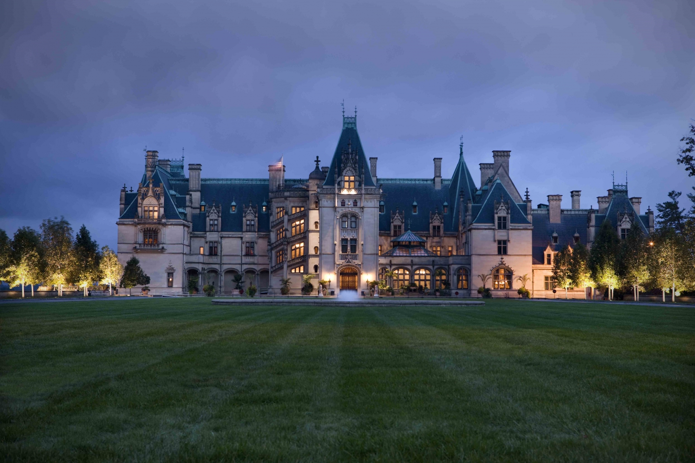 Biltmore is the largest private residence in America. Visitors can tour the house, its gardens and the nearby village and winery.