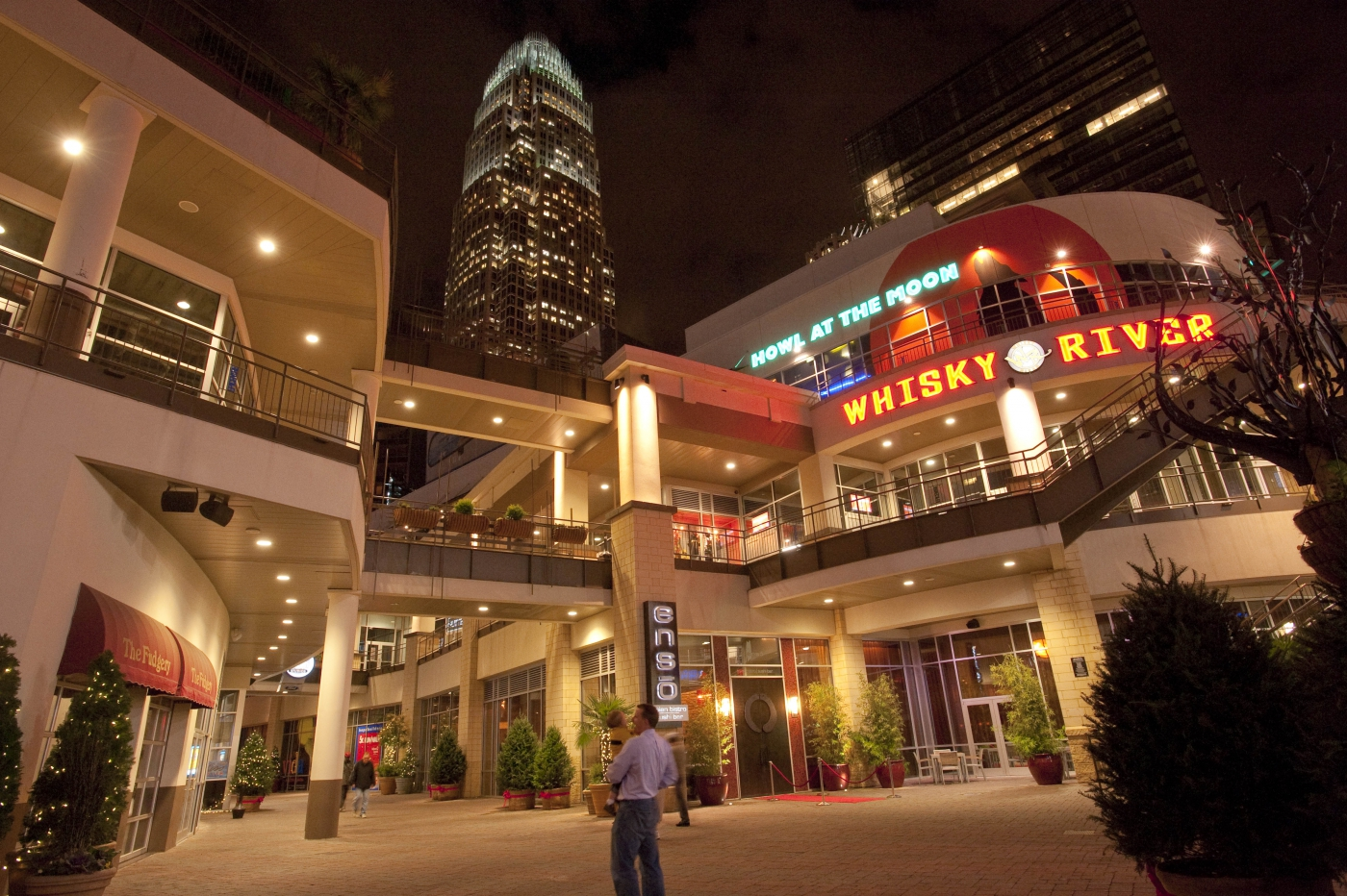 The EpiCentre is an entertainment hub in Uptown Charlotte that features restaurants, nightclubs, bowling, movies and more.