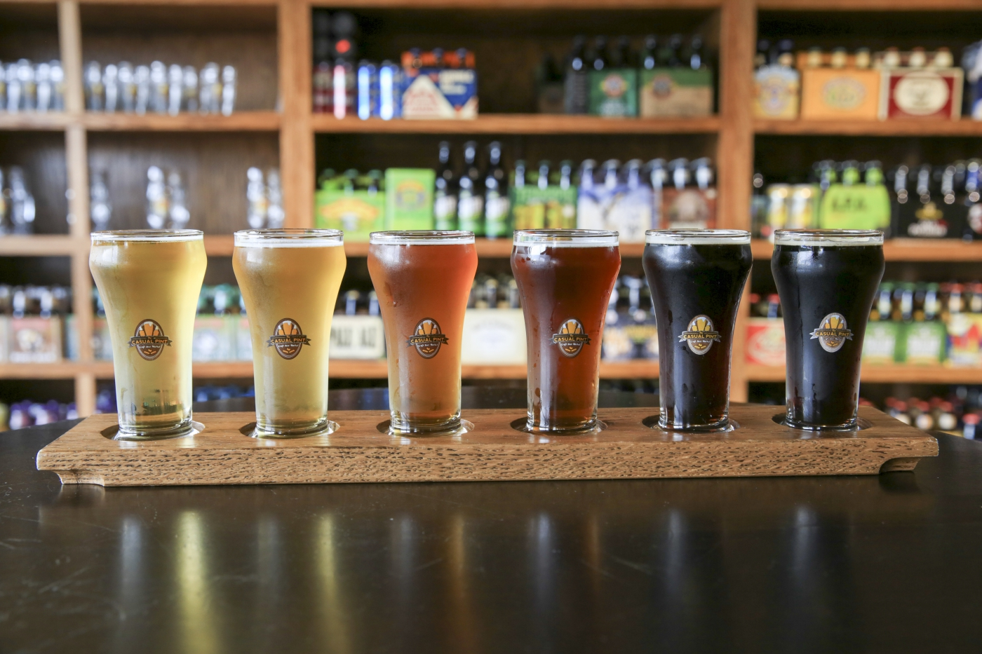 Have a flight in one of many of Knoxville's brewpubs.