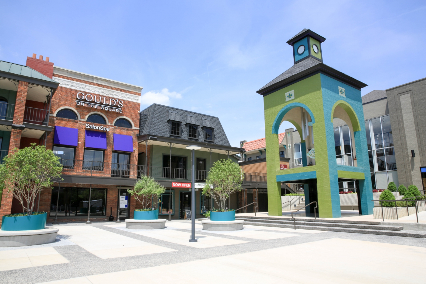 Overton Square is a must see!