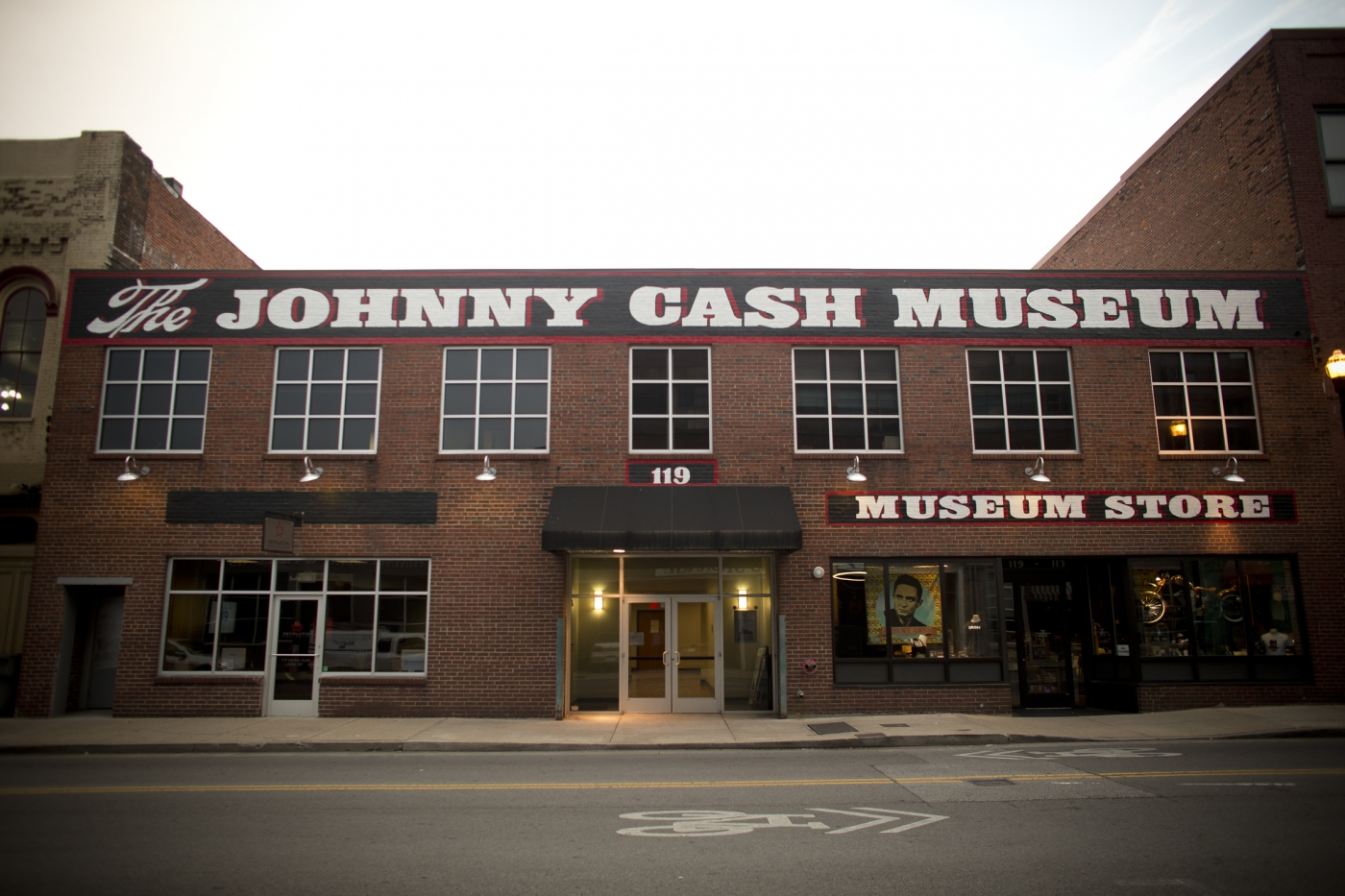 The famed Johnny Cash Museum.