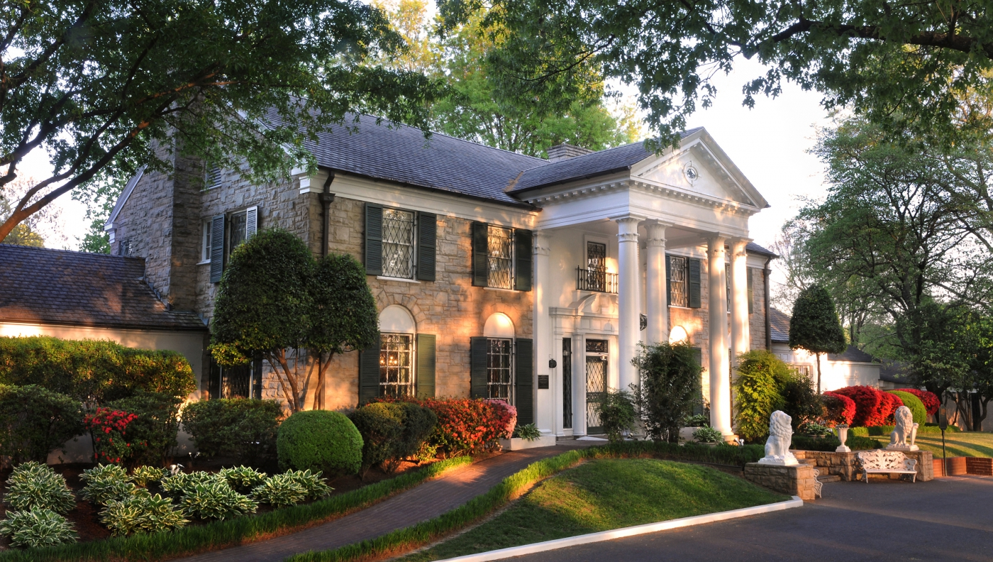 Graceland, Elvis Presley's home, is a must see when in Tennessee!