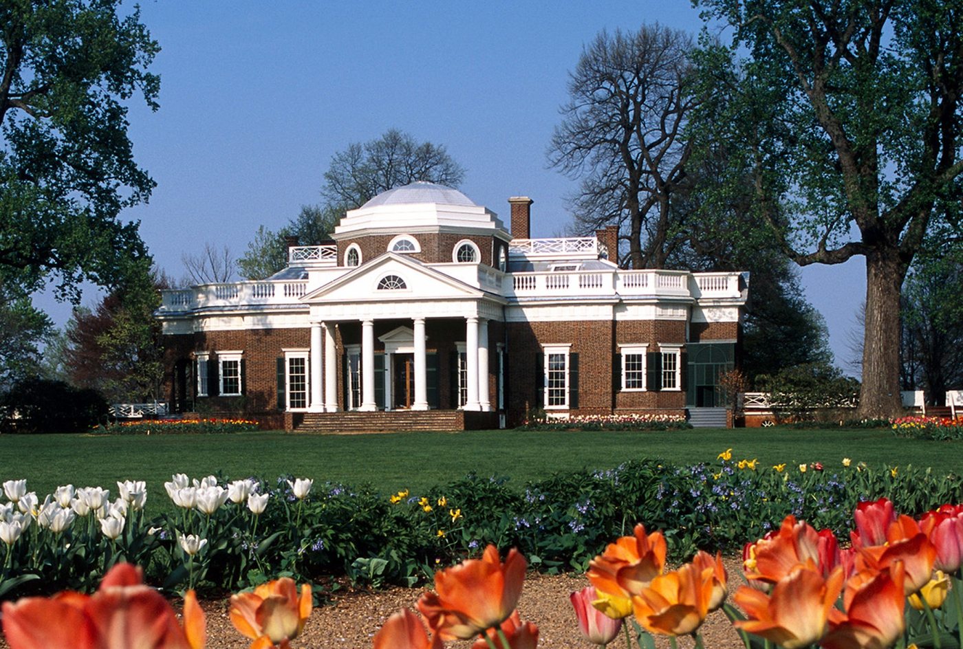 Monticello was home to Thomas Jefferson, the third president of the United States. ©Stephanie Gross