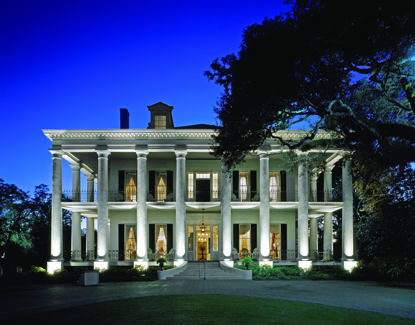 Dunleith Plantation was built in 1856 and is rich with history and charm; a great place to visit and even spend the night.