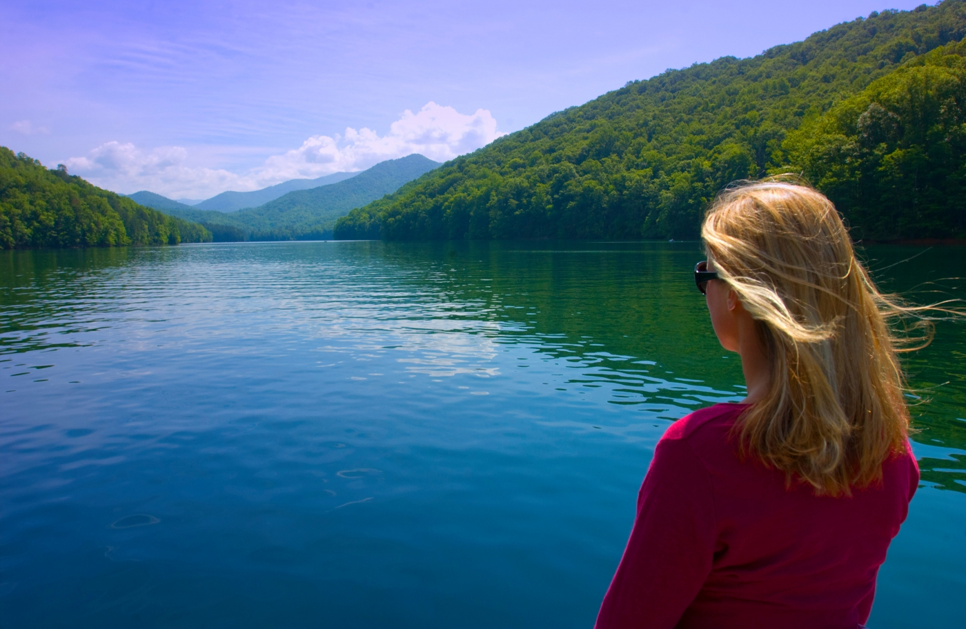 Fontana Lake - Bryson City, North Carolina (courtesy of VisitNC.com)