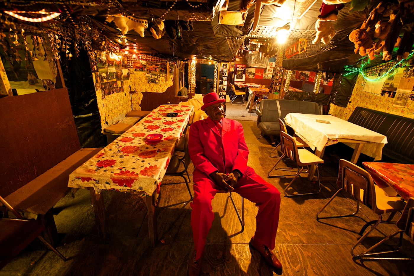 Inside Po' Monkey's is like nothing you've ever seen. A true juke joint that is always worth the visit.