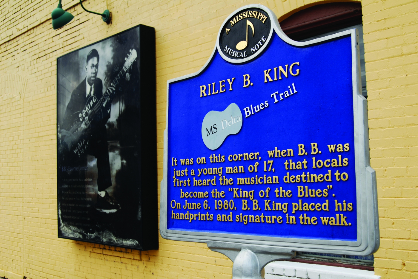 "Known as the ""King of Blues,"" B.B. King got started at a young age in Indianola."
