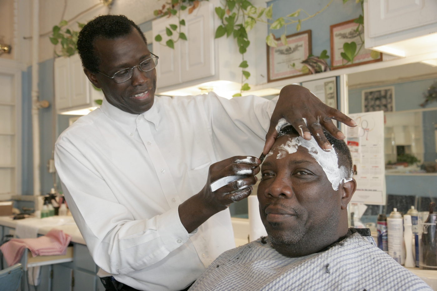 Get a hair cut in the city's 4th Avenue, an historic black business district that also includes restaurants and the Alabama Jazz Hall of Fame.