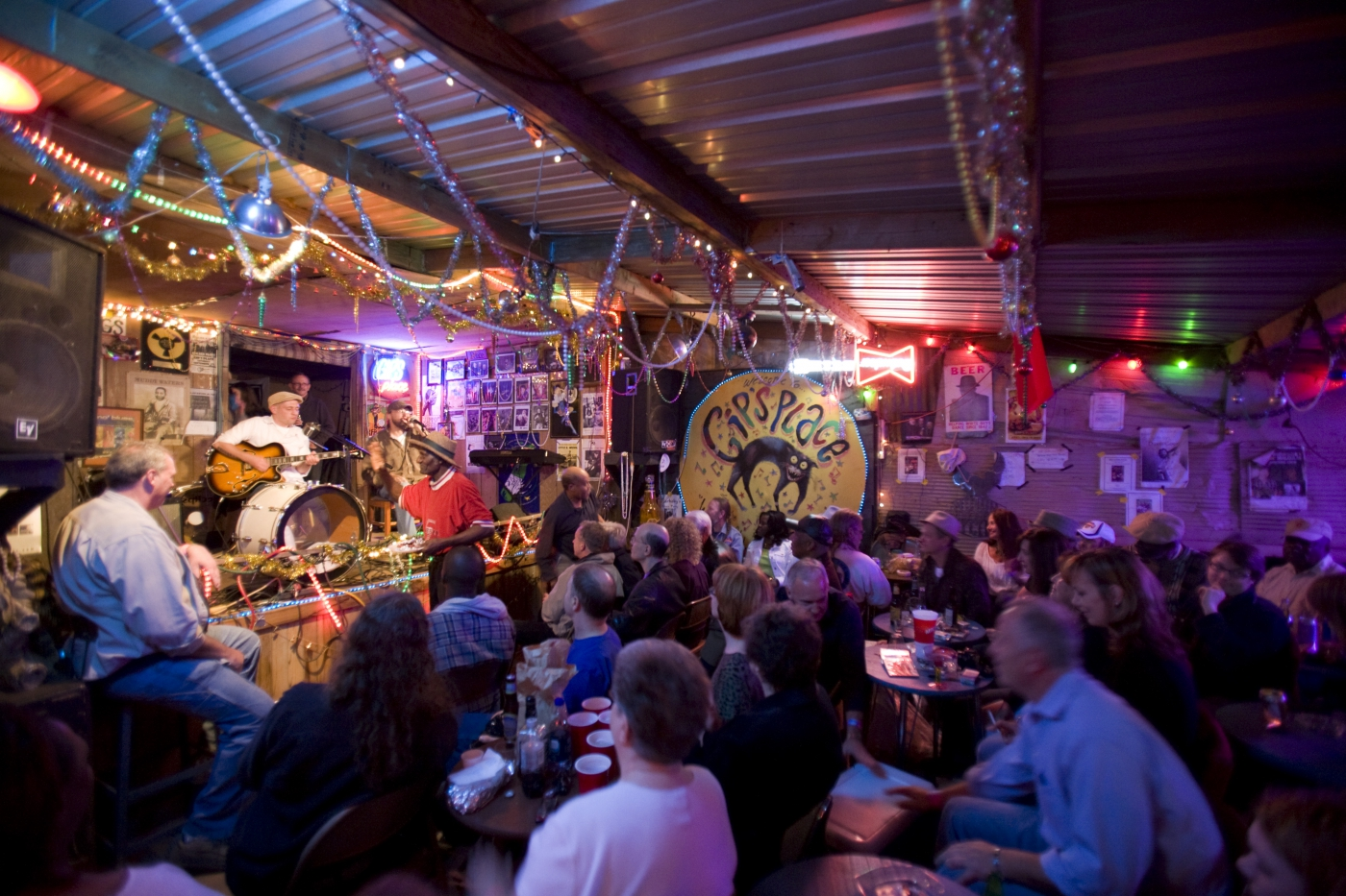 Hear live music every Saturday night at Gip's Place, an authentic backyard juke joint in Bessemer, close to Birmingham.