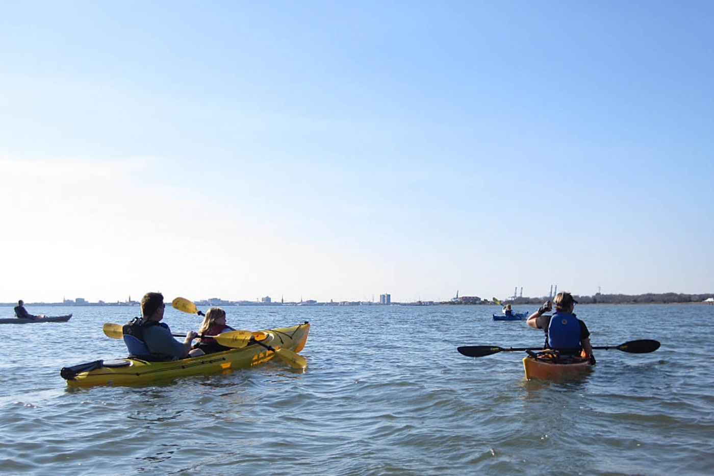 Spend the day on the water with Mount Pleasant's array of activities including kayaking, canoeing, paddleboarding and more!