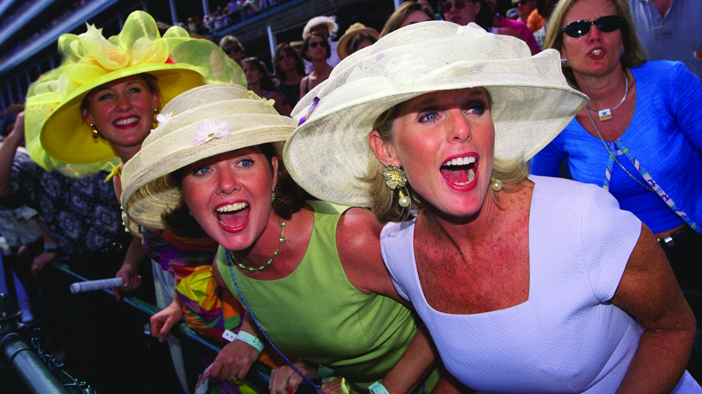 High fashion and high excitement merge at the Kentucky Derby!