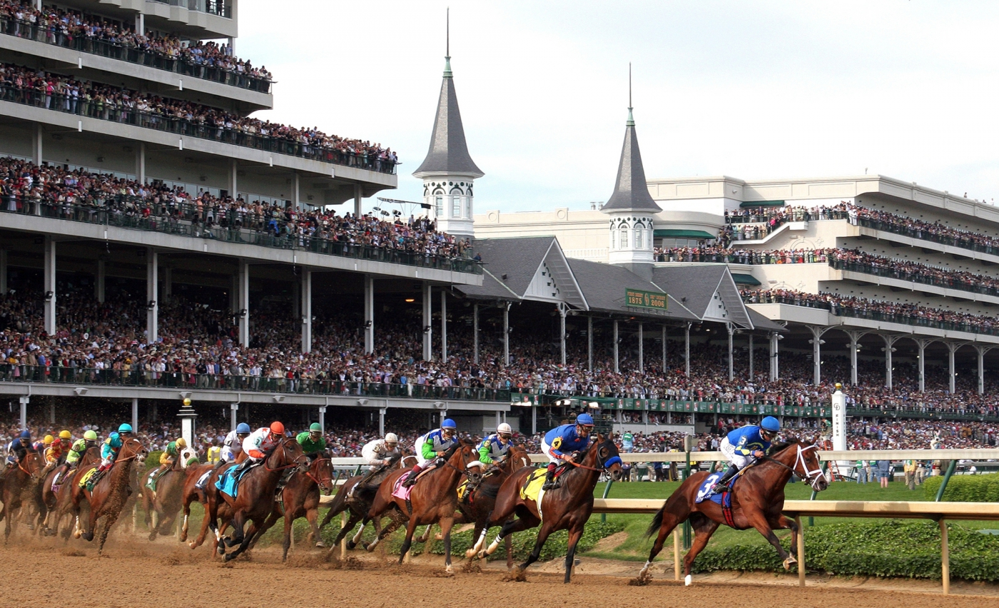 The two week Kentucky Derby Festival celebrates the
