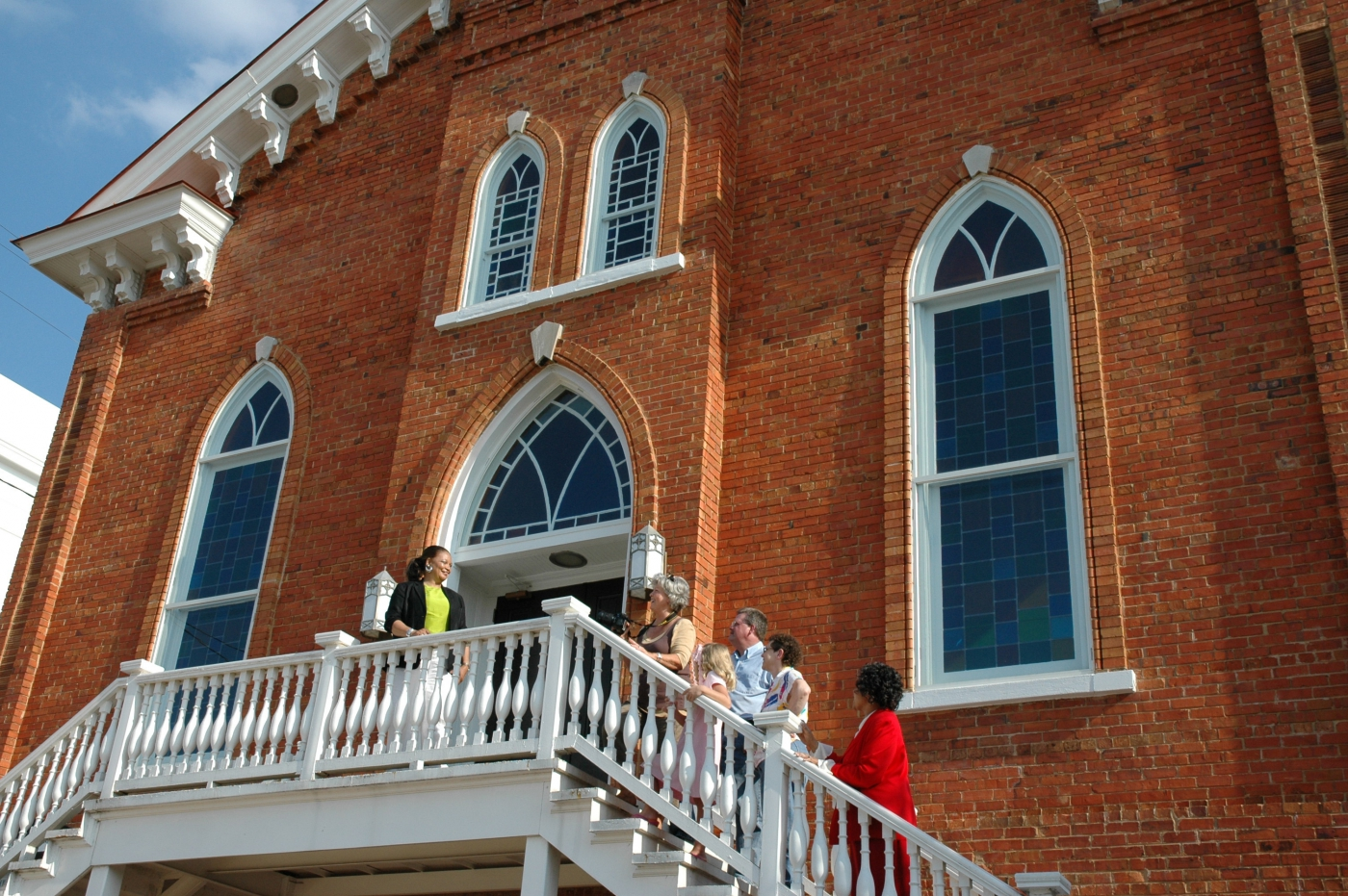 Martin Luther King, Jr., first pastored and became involved in important Civil Rights Movements at the Dexter Avenue King Memorial Baptist Church.