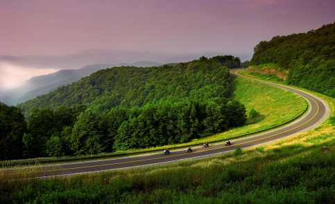 Motorcycle Touring - Canaan Valley