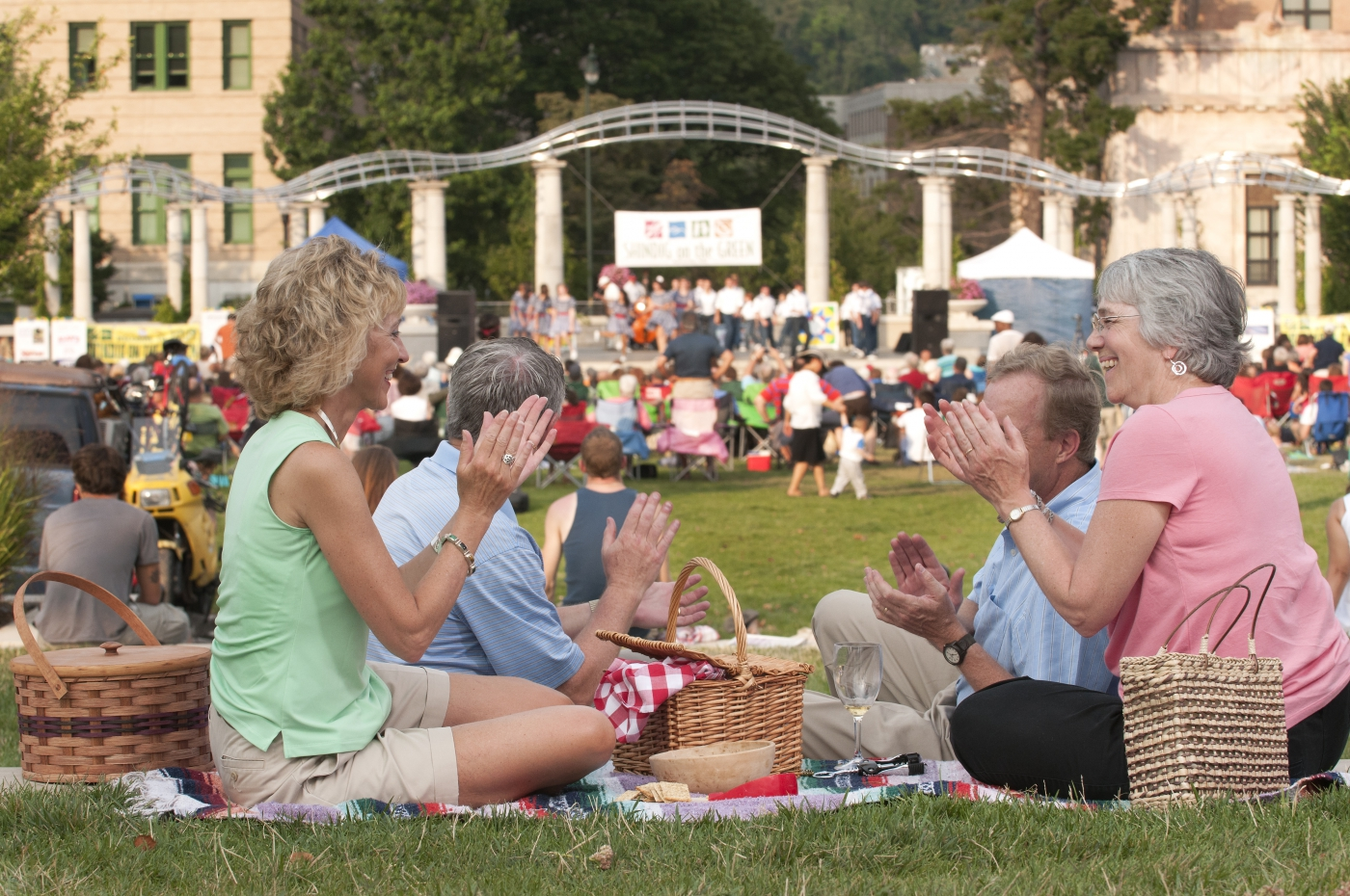 Music festivals and outdoor gatherings are almost nonstop in Asheville.