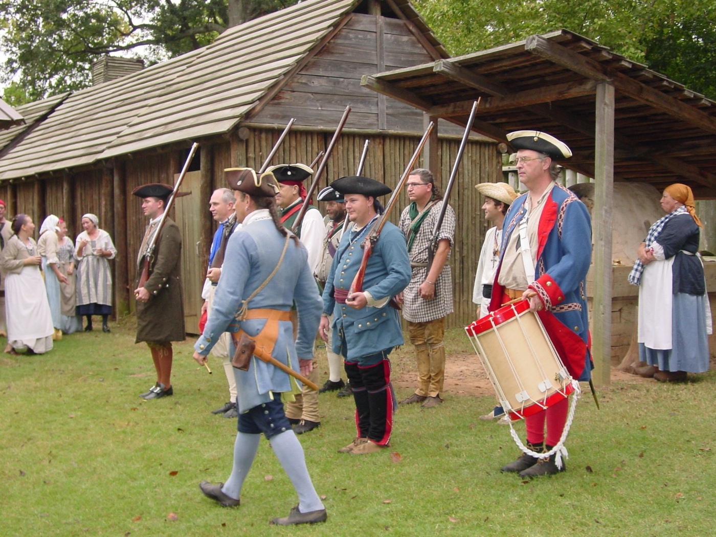 Experience the French Colonial life as you are guided through the fort by costumed interpreters.