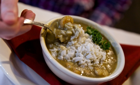 Nobody does seafood gumbo better than Mary Mahoney's.