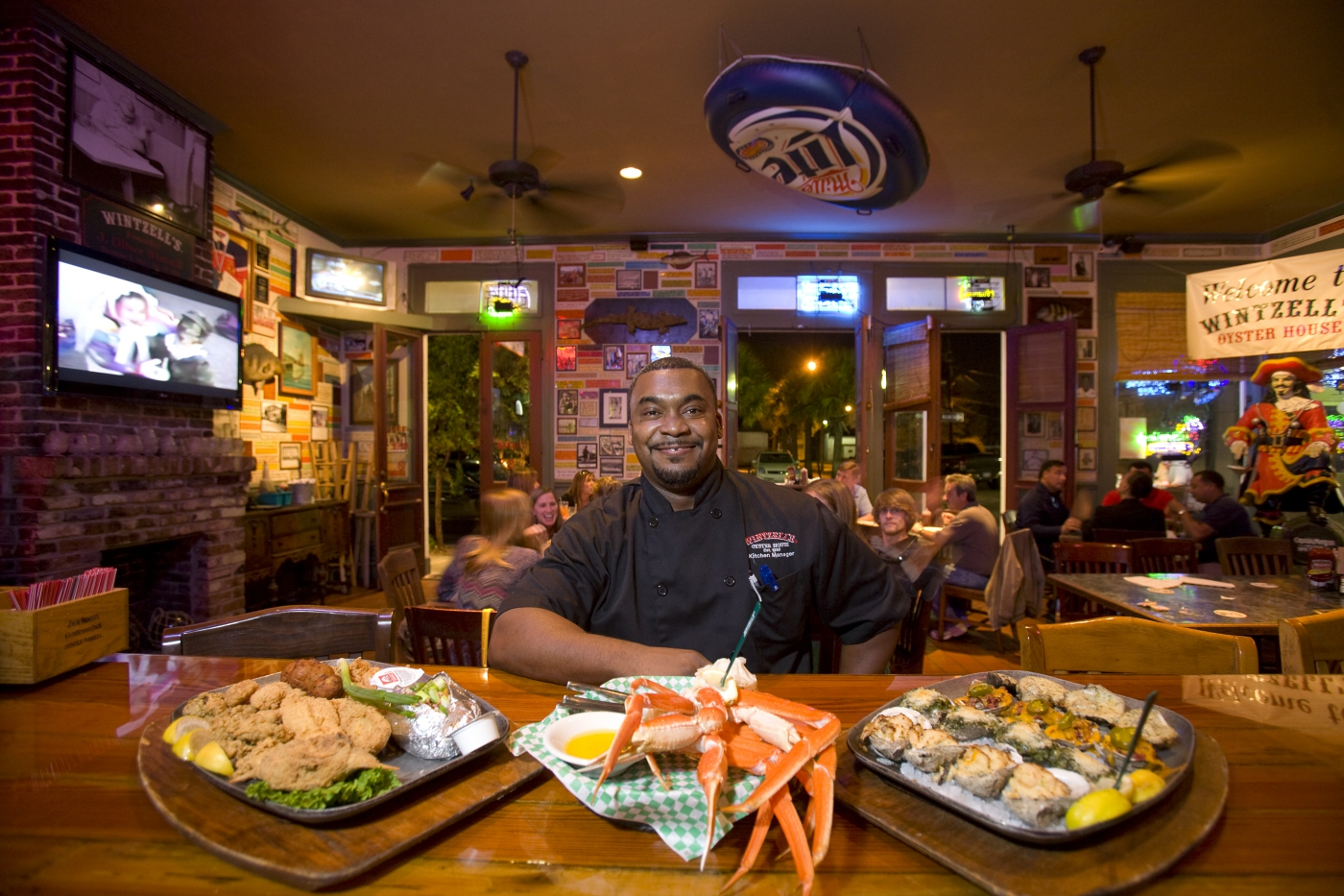 Savory southern cuisine mobile travelsouth usa for Atlanta fish house and grill